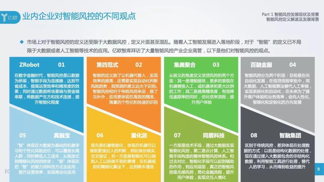 亿欧:2018中国智能风控研究报告(103页)