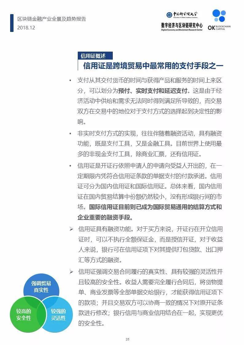 2018区块链金融产业全景及趋势报告(124页)