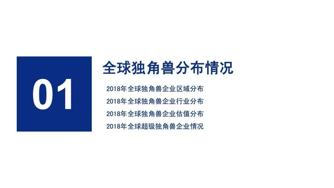 前瞻产业研究院:2018年中美独角兽研究报告