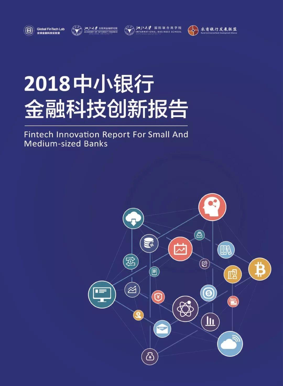 2018中小银行金融科技创新报告——连横合纵 惠之于众