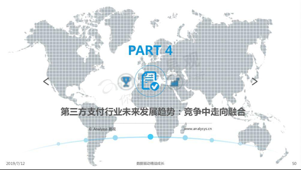 2019中国第三方支付行业年度专题分析