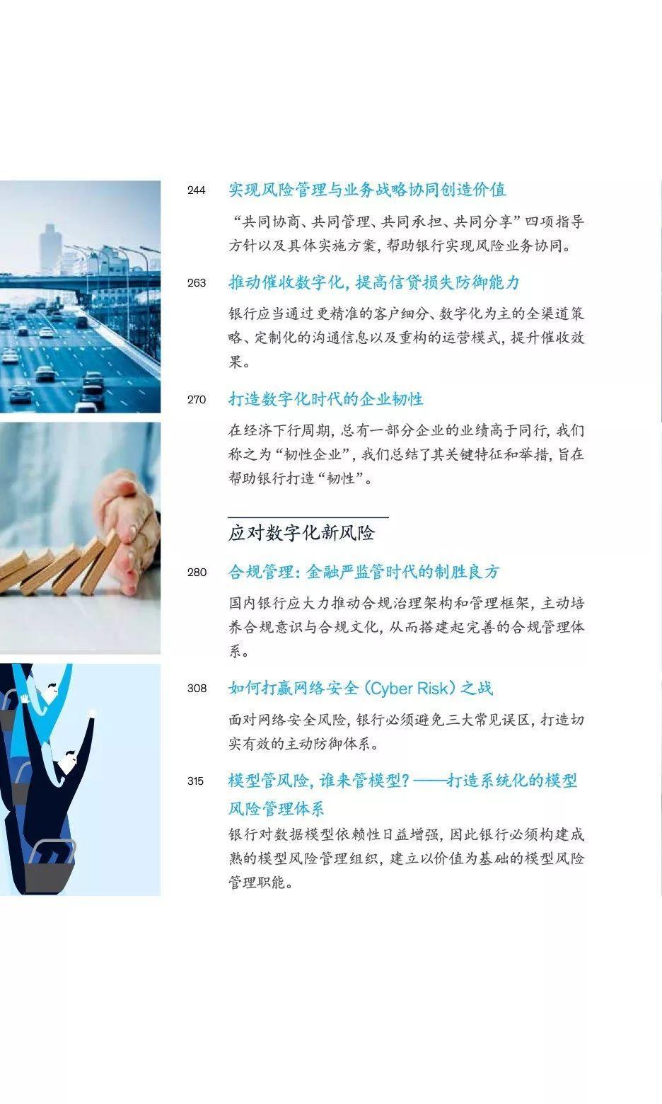 中国银行业CEO季刊2019年秋季刊——新常态和数字化时代的风险管理(186页)