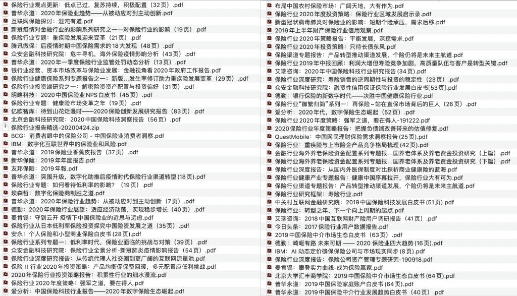 "保险行业研究报告精选<span style=""color:#D80000"">(145份)</span>"