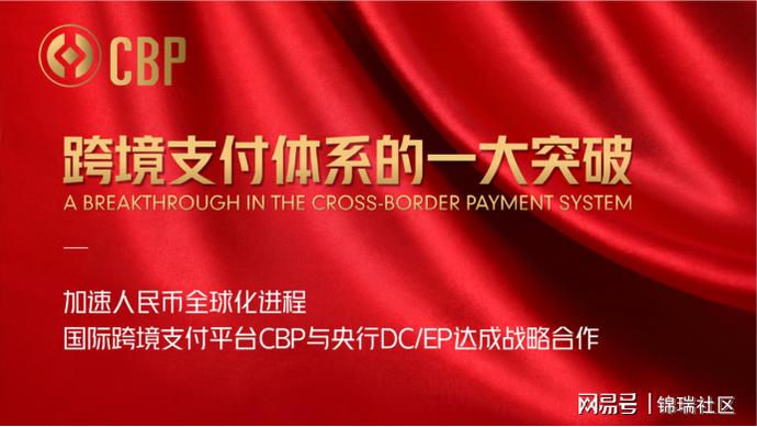 跨境支付平台CBP与央行数字货币DCEP达成战略合作