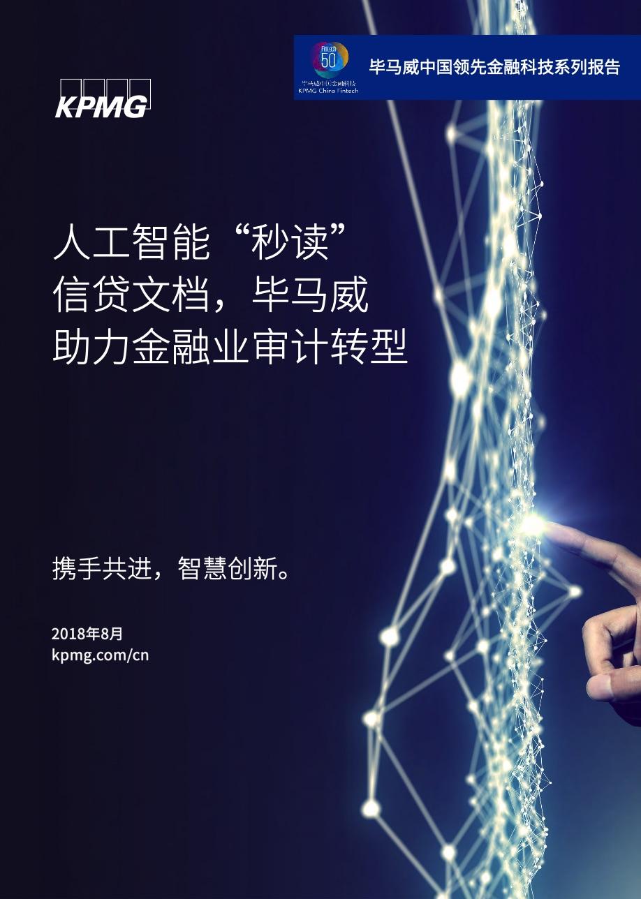 毕马威金融行业洞察报告精选